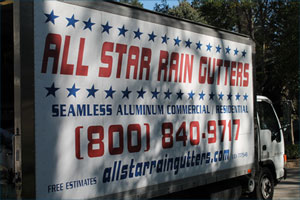 All Star Rain Gutters